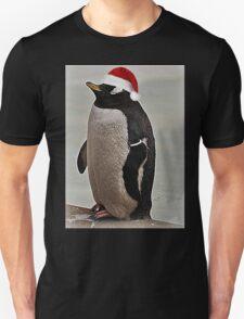 Merry Christmas Mr Penguin Unisex T-Shirt