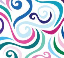 Primeval Swirls Sticker
