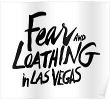 Fear and Loathing in Las Vegas - BLACK  Poster