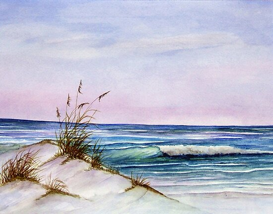 Okaloosa Beach by Rosie Brown
