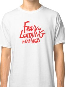 Fear and Loathing in Las Vegas - RED Classic T-Shirt
