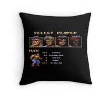 Streets of Rage 2 – Select Max Throw Pillow