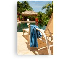 Pool in Paradise Canvas Print
