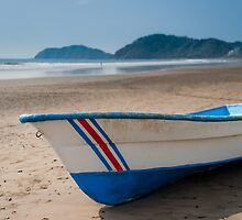 Fishing boat on Jaco beach Costa Rica by mylitleye