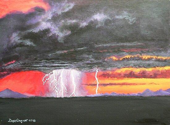 Desert storm by Dan Wagner