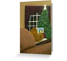 The Christmas story Greeting Card