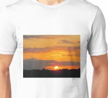 Sun Making A Funny Face Unisex T-Shirt
