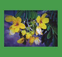 Splendid yellow flowers One Piece - Short Sleeve