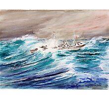 USS Kermit Roosevelt Photographic Print