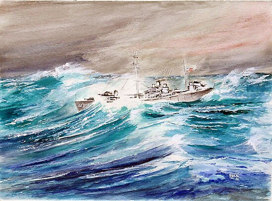 USS Kermit Roosevelt by Rob Beilby