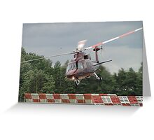 Royal Flight - Sikorsky VIP Transport Greeting Card
