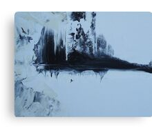Some Sky in the Cold Water - Disappearing Urban Landscape Canvas Print