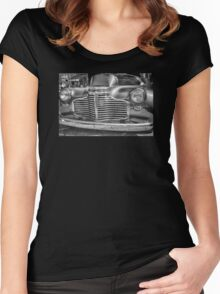 VINTAGE CHEVROLET Women's Fitted Scoop T-Shirt