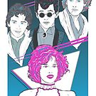Pretty In Pink (Blue Variant) by Michael Donnellan