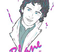 Pretty In Pink - Blane by Michael Donnellan
