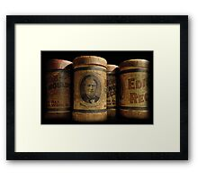 Echo All Around the World Framed Print