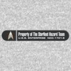 Property of Starfleet Hazard Team Enterprise-E LCARS Version by Christopher Bunye