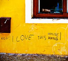 I Love This Haus. by tutulele