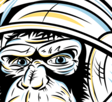 Space Monkey Sticker