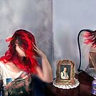 Self Portrait with Self Portrait & Reflection by Mariana Dias