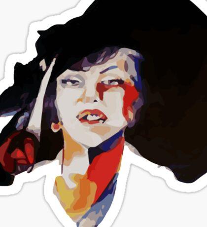 woman color Sticker