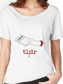Too Long Didn't Read Women's Relaxed Fit T-Shirt
