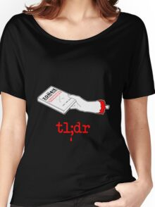 Too Long Didn't Read Dark Women's Relaxed Fit T-Shirt