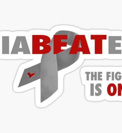 Beat Diabetes with a DiaBEATes Attitude Sticker