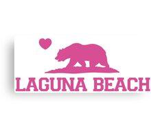 Laguna Beach - California. Canvas Print
