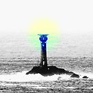 Lands End Lighthouse. by Livvy Young