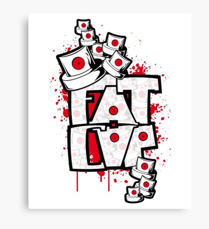 Fat cap Canvas Print