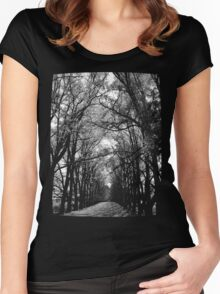 Keep to the Path Women's Fitted Scoop T-Shirt