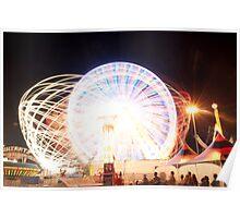Light Web Light Wheel Poster