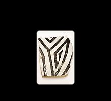 Ancient Anasazi Pottery Shard by doorfrontphotos