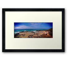 Champagne Pools - Fraser Island Framed Print
