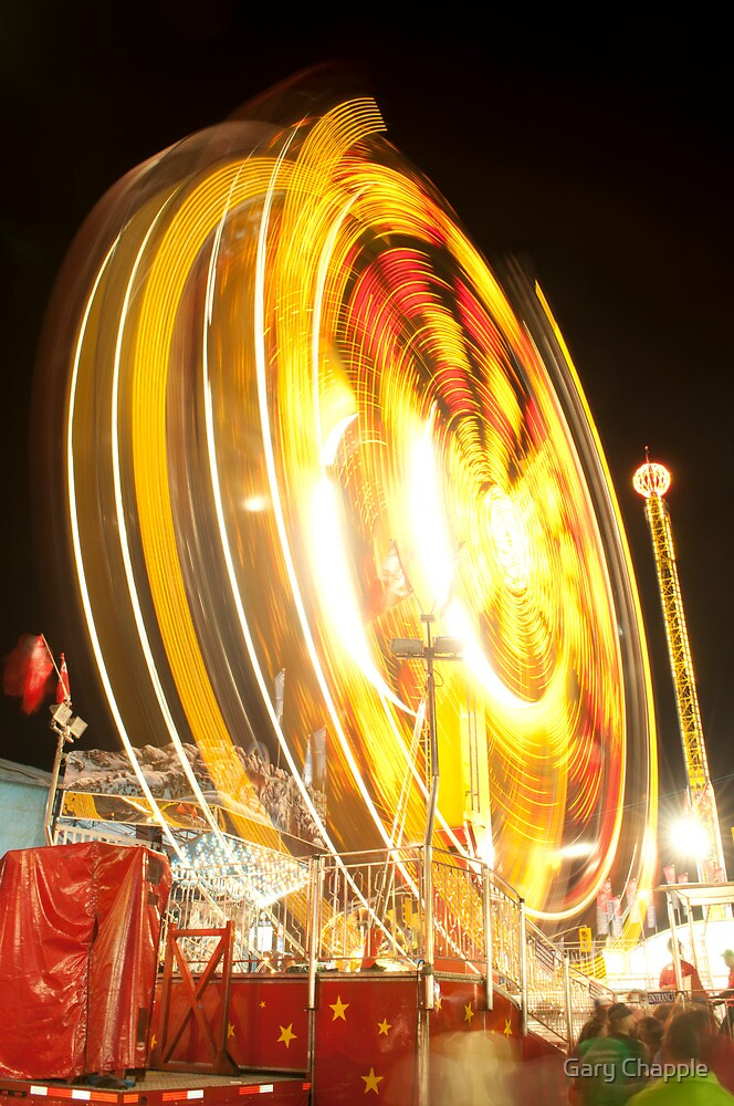Spinning Wheel by Gary Chapple