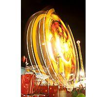 Spinning Wheel Photographic Print