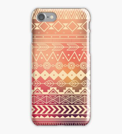 Aztec pattern 01 iPhone Case/Skin