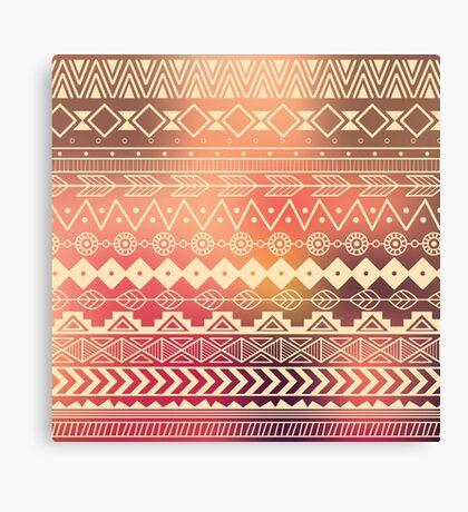 Aztec pattern 01 Canvas Print