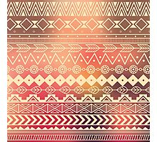 Aztec pattern 01 Photographic Print