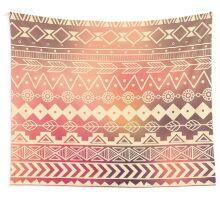 Aztec pattern 01 Wall Tapestry