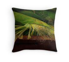 Corn Season ! Throw Pillow