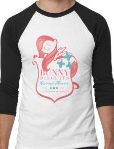 Fluttershy's Bunny Biscuits Men's Baseball ¾ T-Shirt