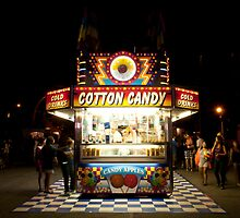 Cotton Candy & Candy Apple Stand by Gary Chapple