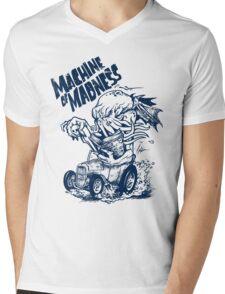 Machine of Madness Mens V-Neck T-Shirt