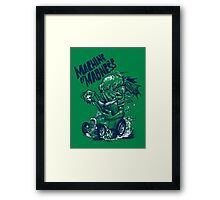 Machine of Madness Framed Print
