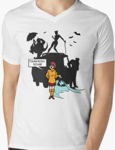JINKIES! Mens V-Neck T-Shirt
