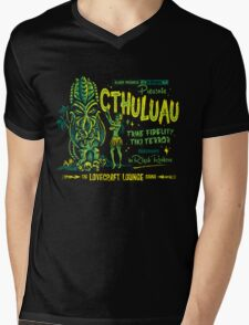 Cthuluau Mens V-Neck T-Shirt