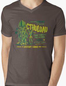 Cthuluau Mens V-Neck T-Shirt