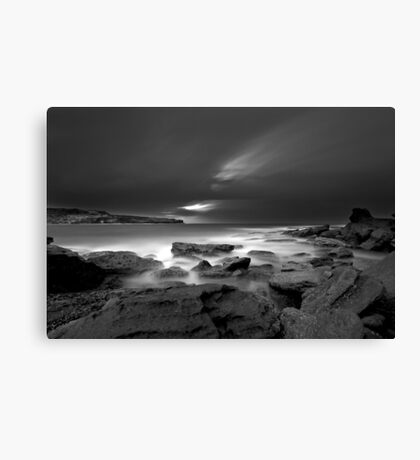 Patches of White Canvas Print